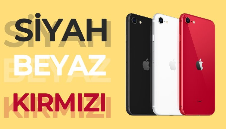 2020 iphone se renkleri