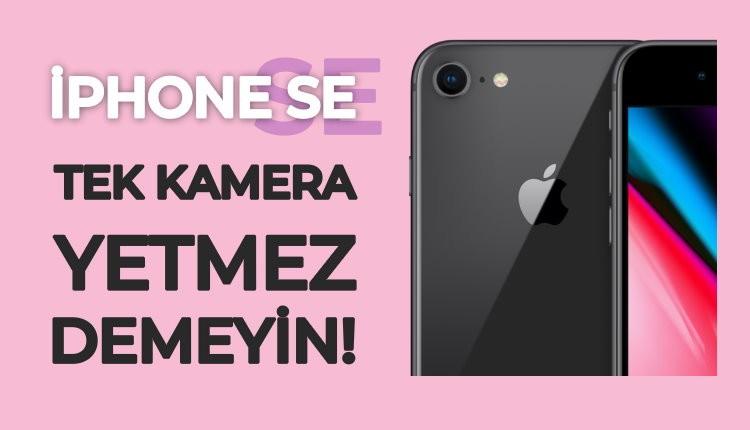 yeni iphone se kamera özellikleri