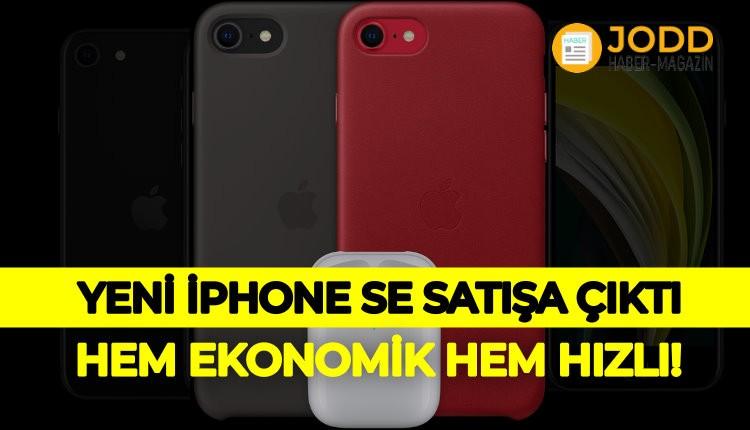 Yeni iphone se muhteşem özellikleri ile satışa başladı