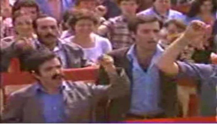 Kemal Sunal 1 Mayıs Yürüyüşene katılan ünlüler