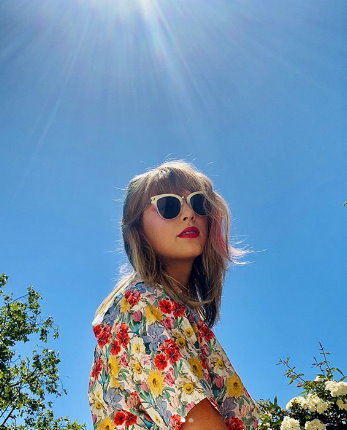 Taylor Swift Saç rengi modeli